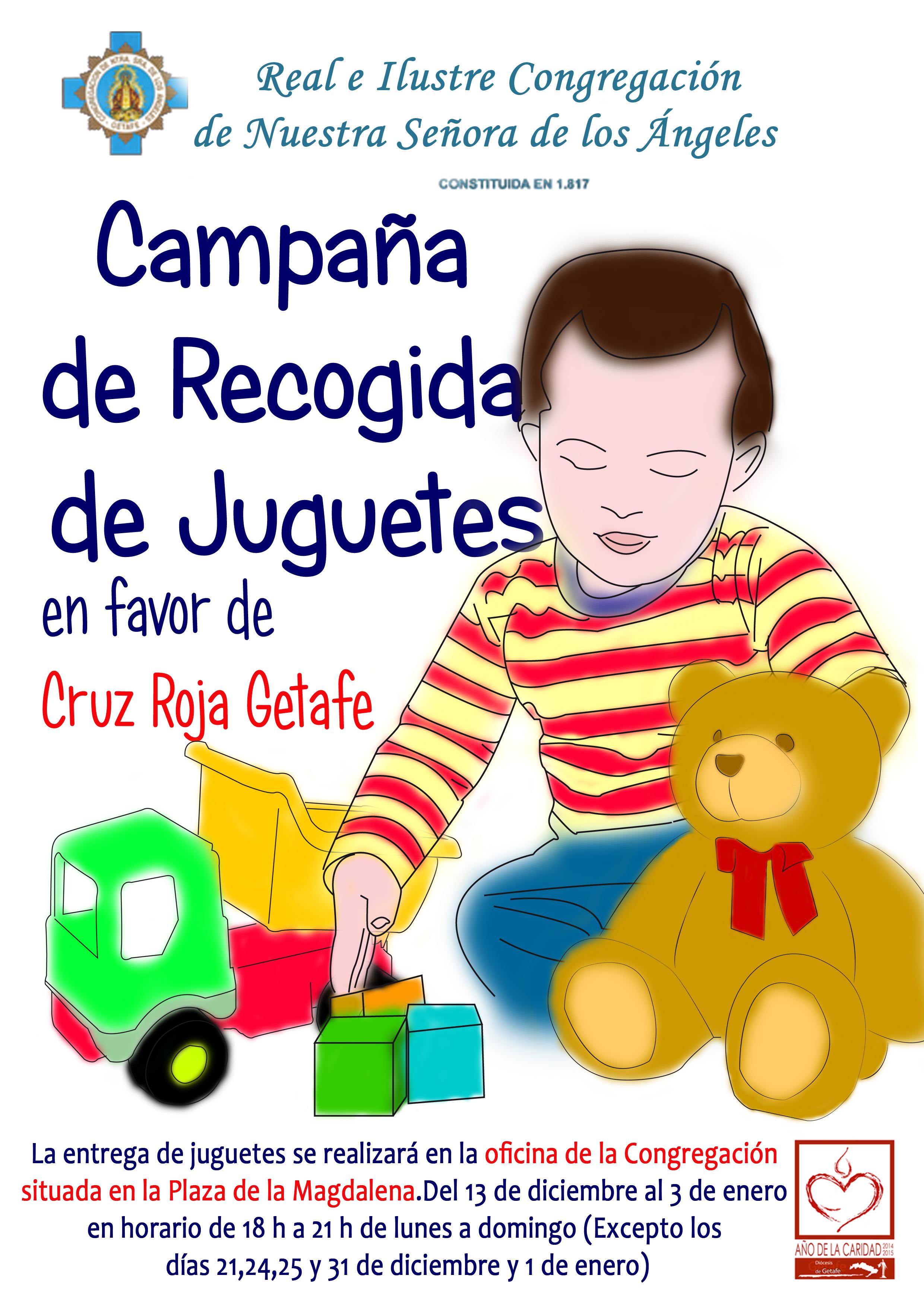 Recogida de juguetes usados en getafe