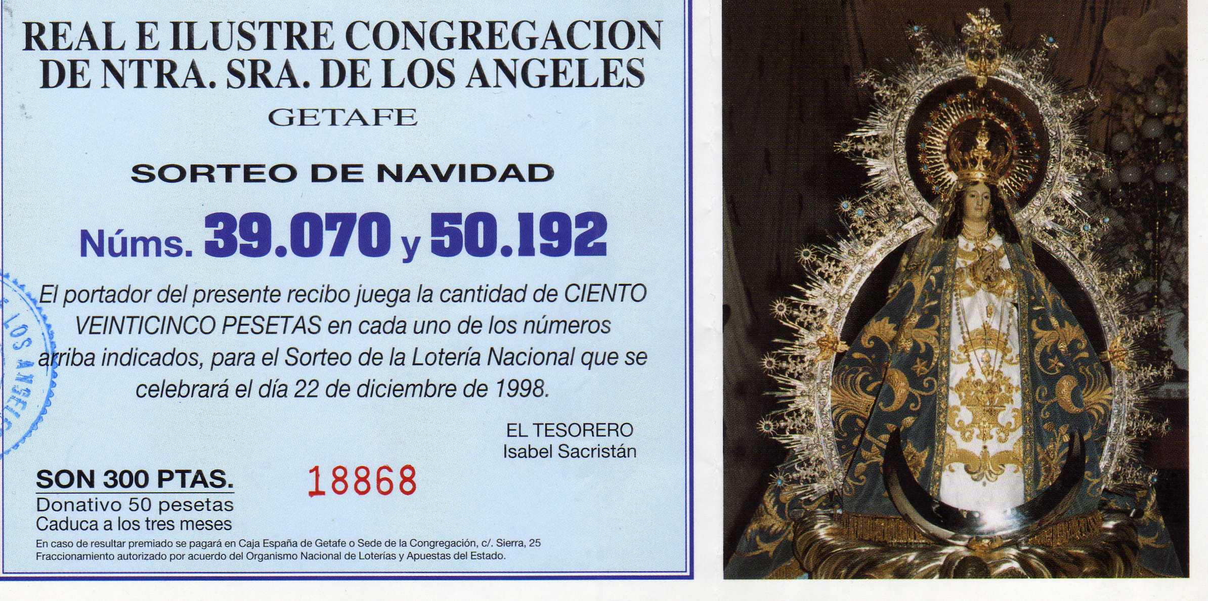 Lotería 1998