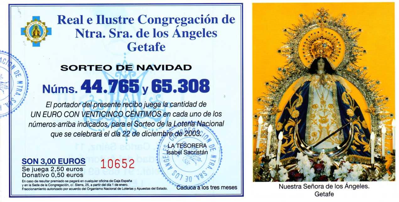 Lotería 2003