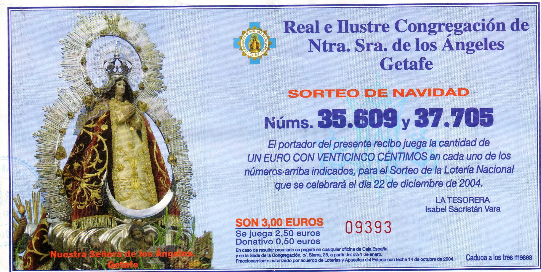 Lotería 2004