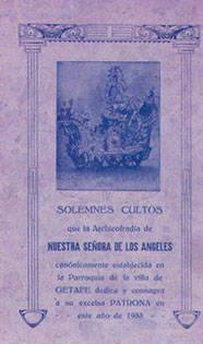Programa de Culto 1933