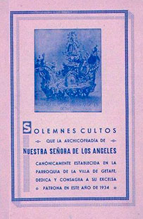 Programa de Culto 1934