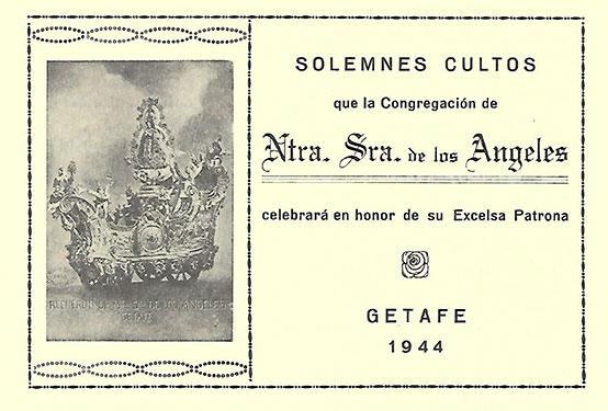 Programa de Culto 1944
