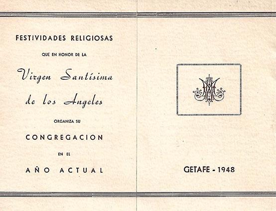 Programa de Culto 1948