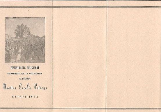 Programa de Culto 1952