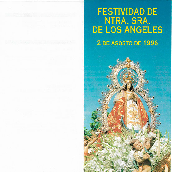 Programa de Culto 1996