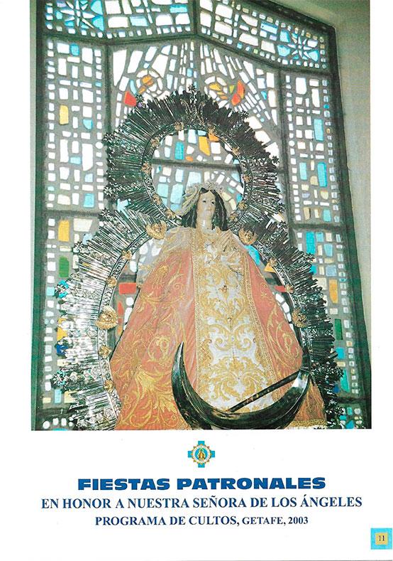 Programa de Culto 2003