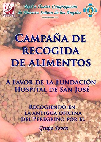Campaña recogida de alimentos (Fundación Hospital San José) 2012