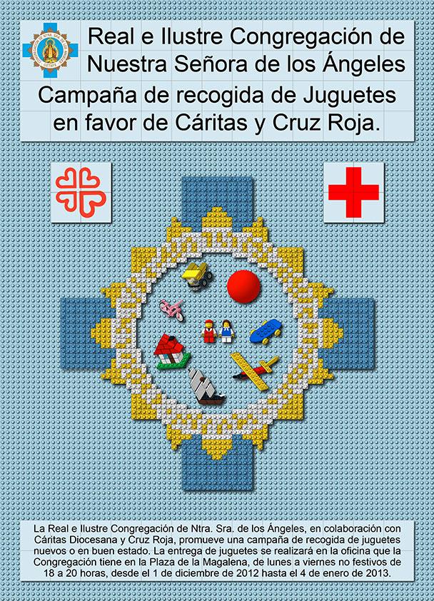 Campaña recogida de juguetes (Cáritas y Cruz Roja) 2012