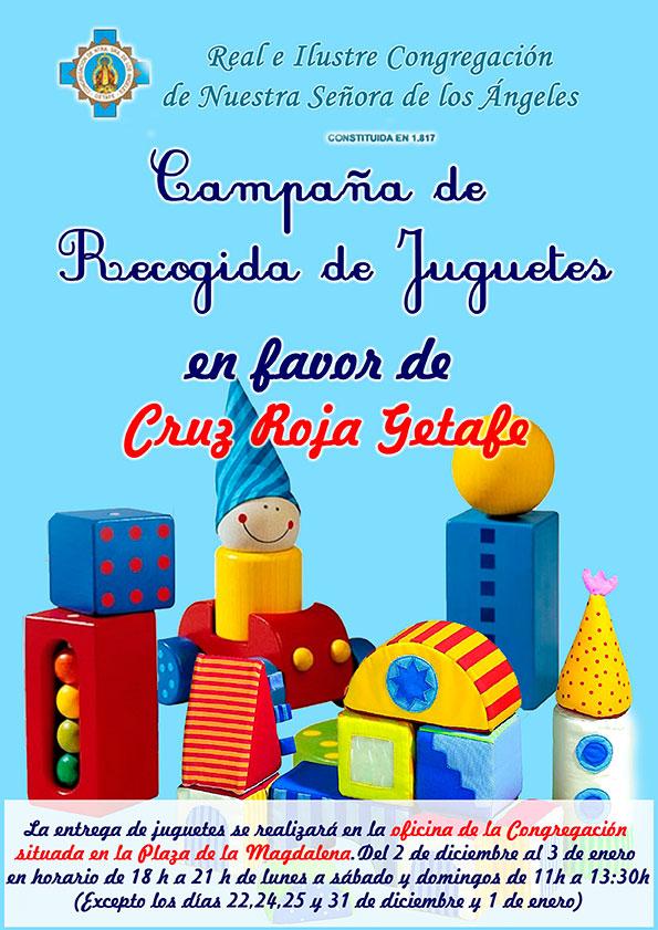 Campaña recogida de juguetes (Cruz Roja) 2013