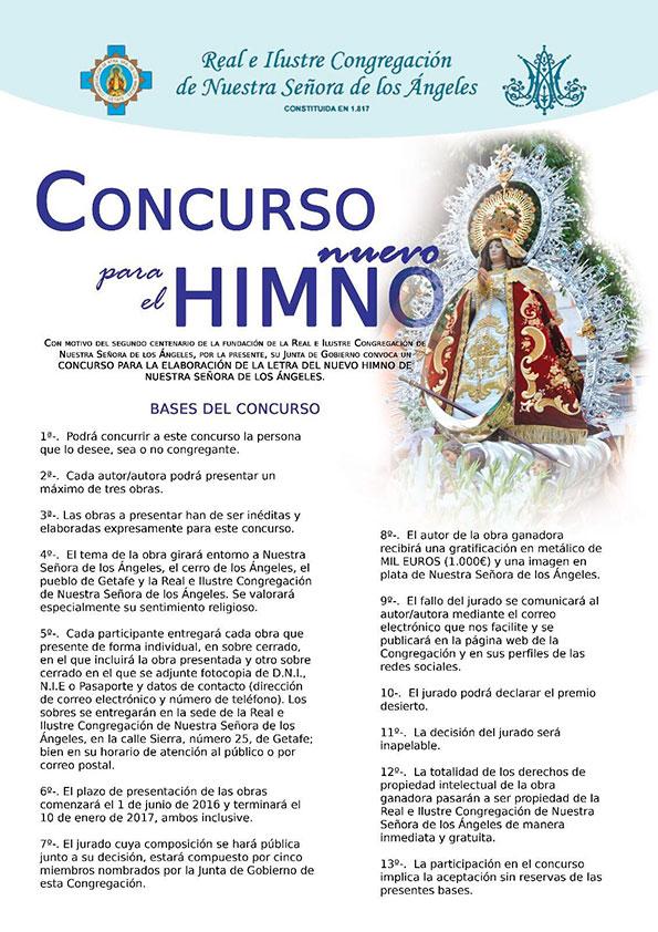 Cartel Concurso Himno 2013