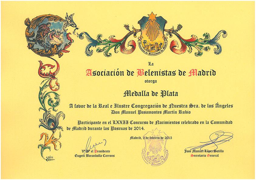 Medalla de Plata 2014