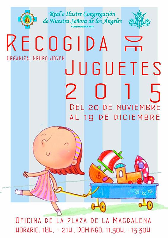 Campaña recogida de juguetes (Cruz Roja) 2015