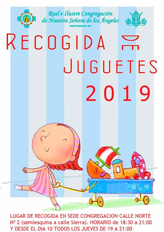 Campaña recogida de juguetes 2019