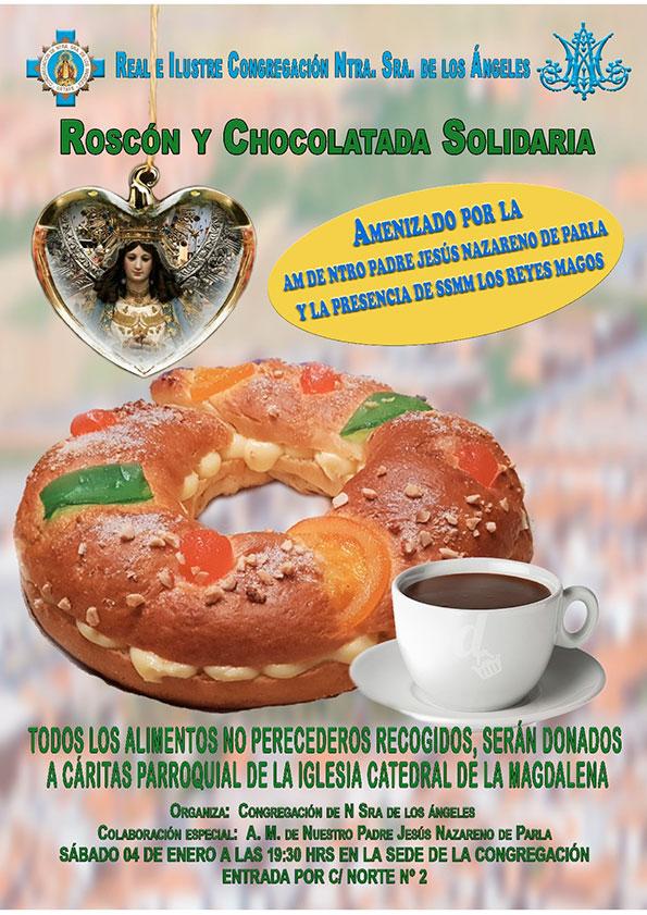 Roscón solidario (Caritas parroquial) 2020