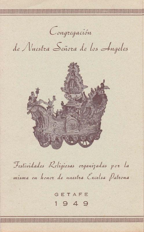 Programa de Culto 1949