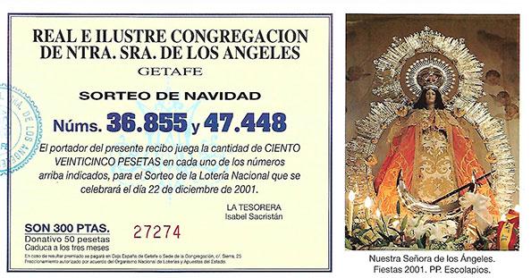 Lotería 2001